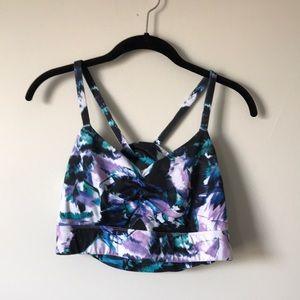 Fabletics medium impact padded sports bra